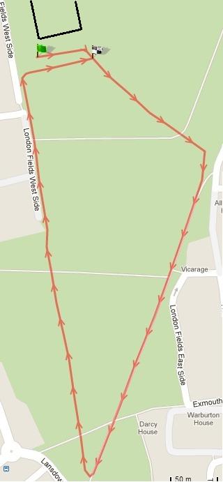 LFTC Aquathlon run course