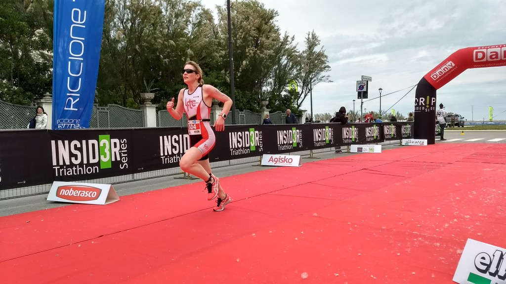 One of the most useful items you might need in a triathlon is a race belt: an elastic belt that you wear around your waist on which you tie the race number.